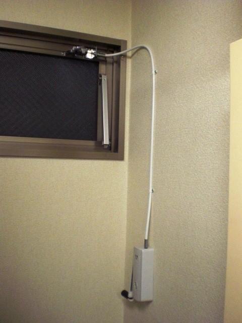 (8)排煙窓オペレーター更新工事完了